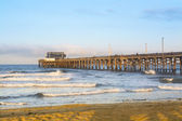 Sunrise over Balboa Pier — Stock Photo