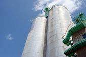 Industrial silo — Stock Photo