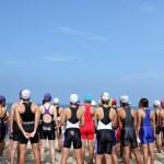 Triathlon — Stock Photo