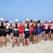 Triathlon — Stock Photo