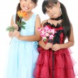 Two little asian girls — Stockfoto #14279695