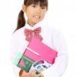 Little asian school girl — Stock Photo #14279943