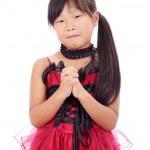 modische kleine asiatische Mädchen — Stockfoto
