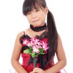 Porträt von asiatischen Mädchen — Stockfoto