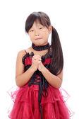 Fashionable little asian girl — Stok fotoğraf