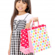Picture of little asian girl — Stockfoto