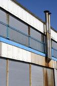Antigua refinería oxidada — Foto de Stock