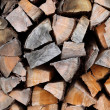 Royalty-Free Stock Photo: Fire woods