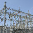 Stock Photo: Electrical power substation