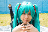 Cosplay girl — Stock Photo