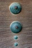 Door of japanese old castle — Stock Photo