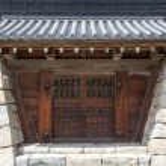 Japanese castle gate — Stock Photo