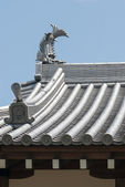 Japanese castle roof — Stock Photo