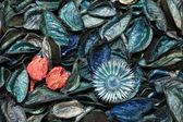 Perfumed potpourri background — Stock Photo