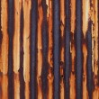 Stock Photo: Rusted corrugated metal