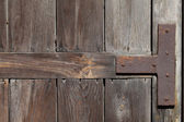Old weathered wooden door — Stock Photo