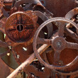 Stock Photo: Old rusty machinery