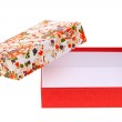 Gift box of handmade japanese pattern — Stock Photo #28304683