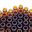 Brown glass bottles — Stock Photo