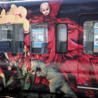 Foto de Stock  : Artistic train