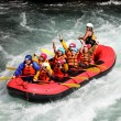 River Rafting — Stockfoto