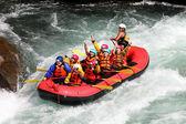 River Rafting — Stock Photo