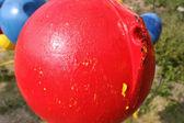 рыбалка поплавок мяч — Стоковое фото