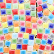 Colorful tiles background — Stock Photo