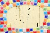 Cornice di tessere colorate — Foto Stock