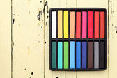 Colored crayons — Stock Photo