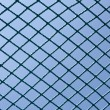 Safety blue net  — Stock Photo