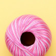 Pink sewing thread — Stock Photo #34783369