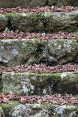 Eski taş merdiven — Stok fotoğraf