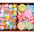 Japanse colorful candies — Stock Photo
