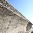 Concrete breakwater — 图库照片