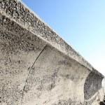 Concrete breakwater — Foto Stock