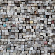 Stack of old lumber surface — Stock Photo #37737309