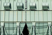 Steel storage silo — Stock Photo