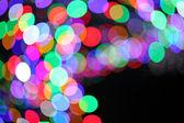 Colorful bokeh light — Stock Photo