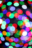Colorful bokeh light — Stock Photo
