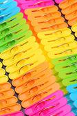 Plastic clothespin — Stock Photo