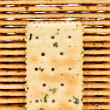 Stock Photo: Vegetable salty crackers