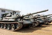 Japanese military tank — Stock Photo