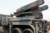Military missile system — Stock Photo