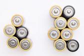 Aa 电池 — 图库照片
