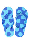 Pair of flip flop sandals — Stock Photo