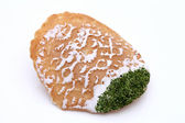 Japanese cracker with seaweed — Stock Photo