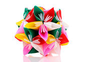 Origami paper flower — Stock Photo