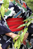 Japanese clothes of Kimono — Stock Photo