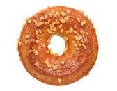 Cream sandwich crackers, donut — Stock Photo